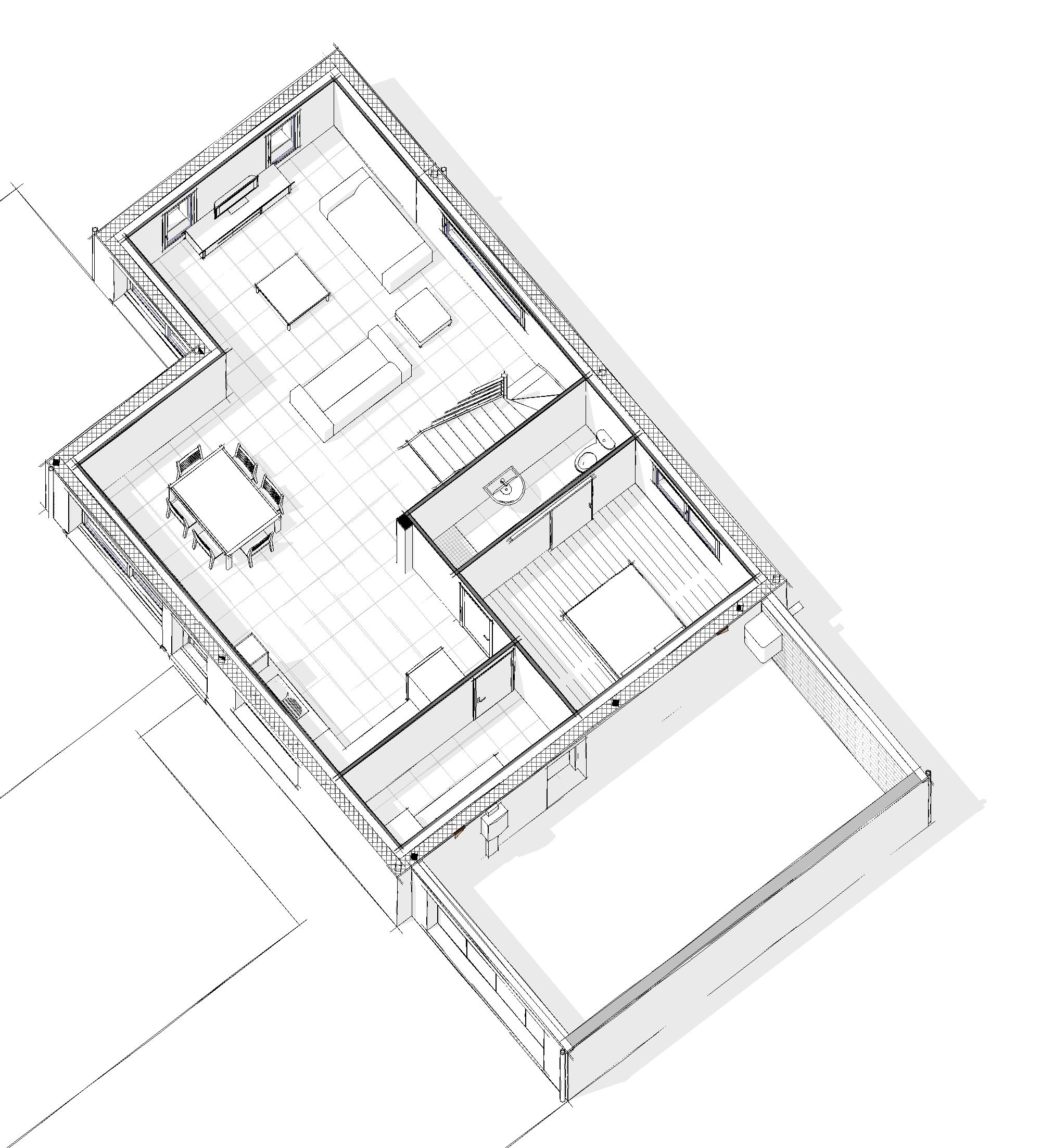 Maison modèle DALI - Rez-de-chaussée