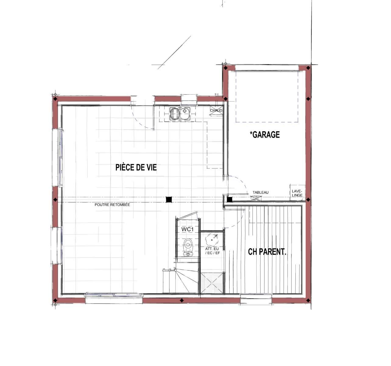 Maison modèle CEZANNE - RDC