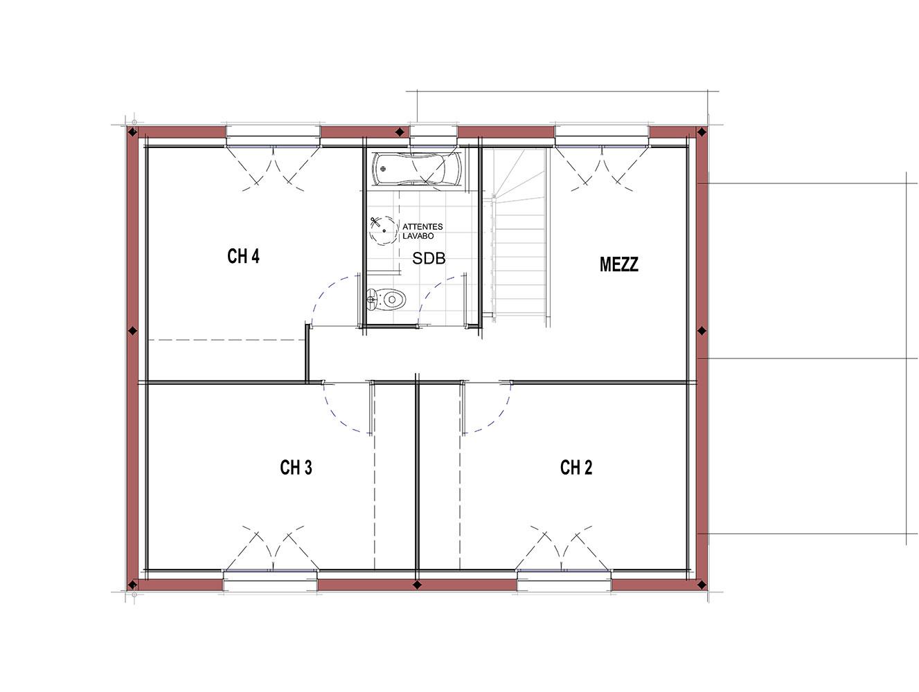 Maison Modèle DALi - ETAGE