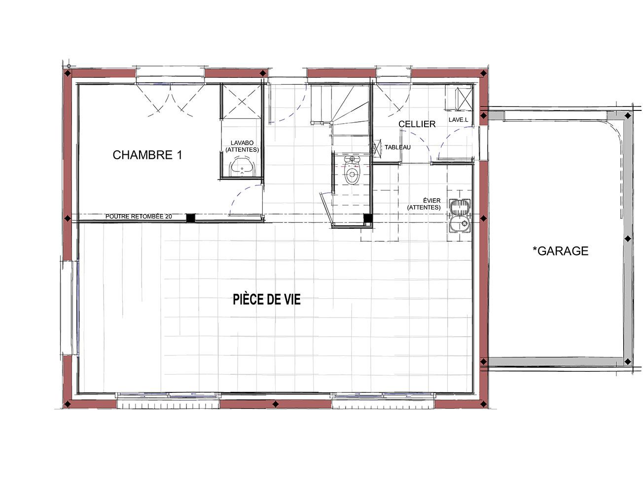 Maison Modèle DALi - RDC
